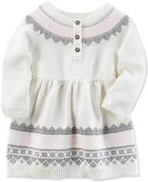 Carter's Cotton Sweater Dress, Baby Girls (0-24 months)