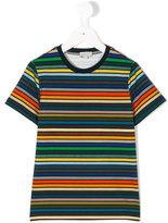 Paul Smith striped T-shirt - kids - Cotton/Spandex/Elastane - 3 yrs