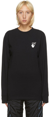 Off-White Black Pascal Arrows Long Sleeve T-Shirt