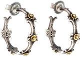 Konstantino Two-Tone Hoop Earrings