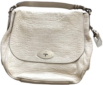 Mulberry Ecru Leather Handbags