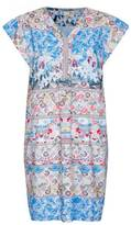 Yumi Floral Patchwork Tunic