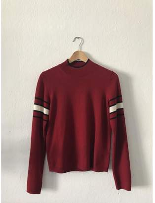 Uniqlo Red Wool Knitwear for Women