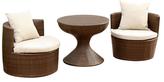 Abbyson Palermo Outdoor Chair Set (3 PC)