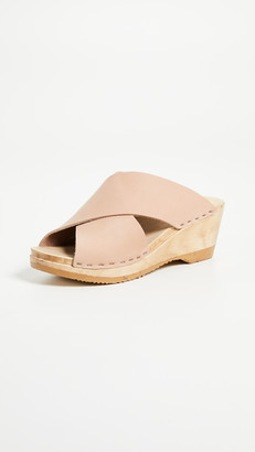 NO.6 STORE Frida Wedge Clogs