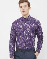 Ted Baker Parrot paisley cotton shirt