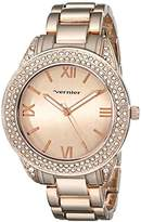 Vernier Women's VNR11165RG Analog Display Japanese Quartz Watch