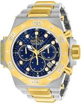 Invicta Men's Akula Gold-Tone Steel Bracelet & Case Quartz Dial Analog Watch 23101