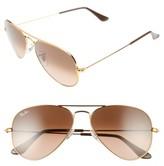 Ray-Ban Women's Original 55Mm Small Aviator Sunglasses - Arista