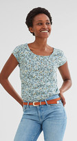 Esprit Tee with a beautiful back neckline
