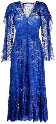 Emilio Pucci x Koche floral-lace long dress