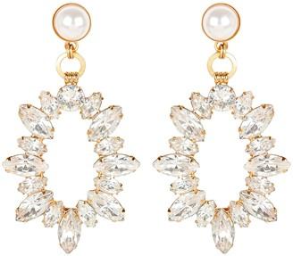 Elizabeth Cole Adalyn Crystal Statement Earrings