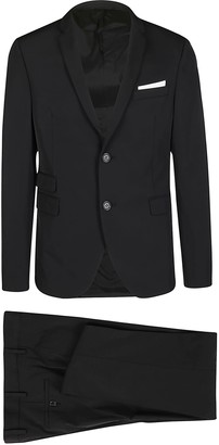 Neil Barrett Black Two-piece Suit