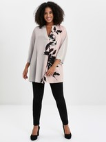 Evans Placement Blush and Grey Shirt - Grey