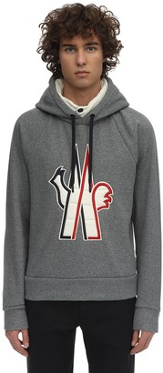 MONCLER GRENOBLE Chenilla Tech Down Sweatshirt Hoodie