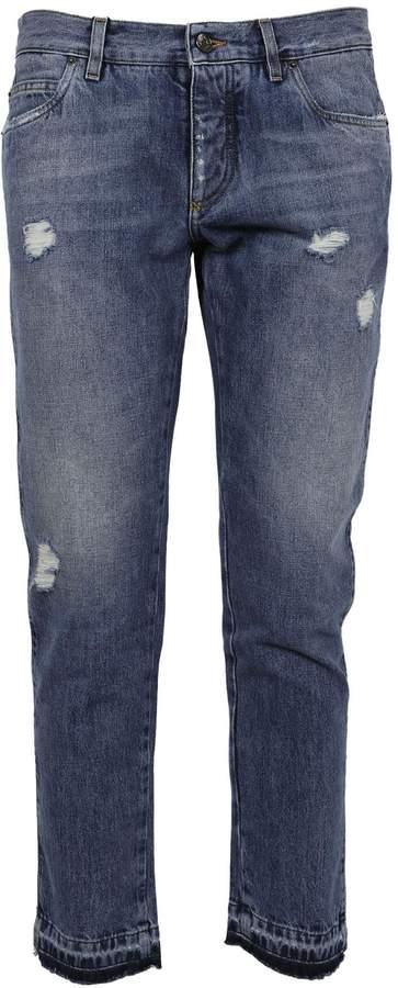 Dolce & Gabbana Classic Distressed Jeans