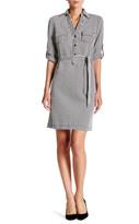 Max Studio Knit Shirt Dress