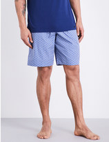 Hanro Flower woven cotton shorts