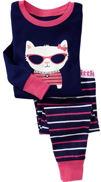 Old Navy Cat-Graphic PJ Sets for Baby