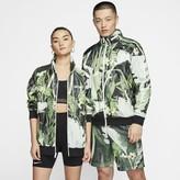 Nike Woven Floral Jacket Sportswear JDI Windrunner