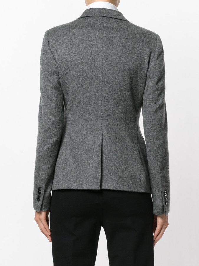 Tagliatore knitted button blazer