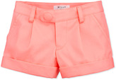 Milly Minis Bow Pocket Shorts, Coral, Sizes 8-10
