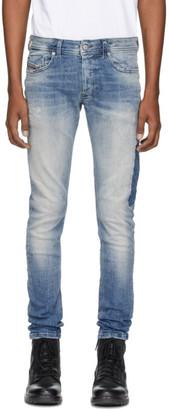 Diesel Blue Sleenker 0098D Jeans