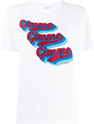 P.A.R.O.S.H. graphic-print crew neck T-shirt