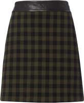 A.L.C. Krisa Plaid Mini Skirt