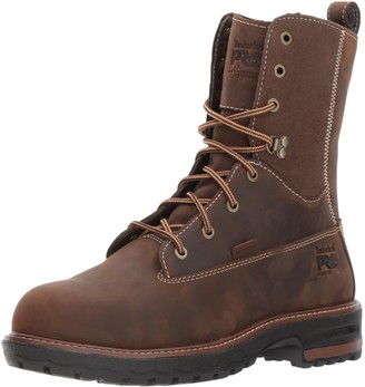 "Timberland Women's Hightower 8"" Alloy Toe Waterproof Industrial & Construction Shoe"