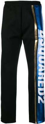 DSQUARED2 Logo Stripe Track Pants