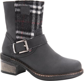 Muk Luks Women's Adjustable Buckle Booties - Lois