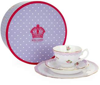 Royal Albert Candy Love Lilac Three Piece Set