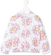 MonnaLisa floral print jacket - kids - Polyester - 3 yrs