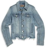 Blank NYC Girl's Denim Button-Front Jacket
