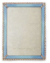 Jay Strongwater Stone Edge 5x7 Periwinkle Fr