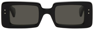Gucci Black Thick Rectangular Sunglasses