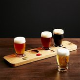 Crate & Barrel Beer Tasting Set