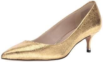 Kenneth Cole New York Women's Riley 50 MM Pump Yellow/Gold 8 M US