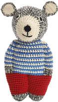 Anne Claire Crochet Midi Teddy - Dark Grey