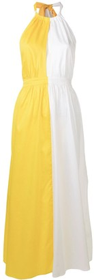 Mara Hoffman colour block maxi dress