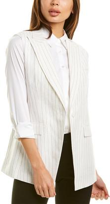 Lafayette 148 New York Vanya Linen-Blend Jacket
