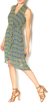 KUT from the Kloth Geometric High Low Dress