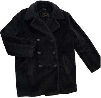 Fendi Grey Faux fur Coats
