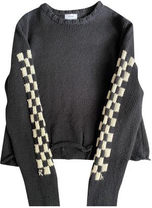 Rhude Black Cotton Knitwear & Sweatshirts