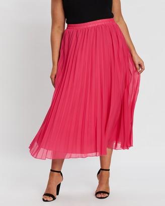 Atmos & Here Carlton Pleat Skirt