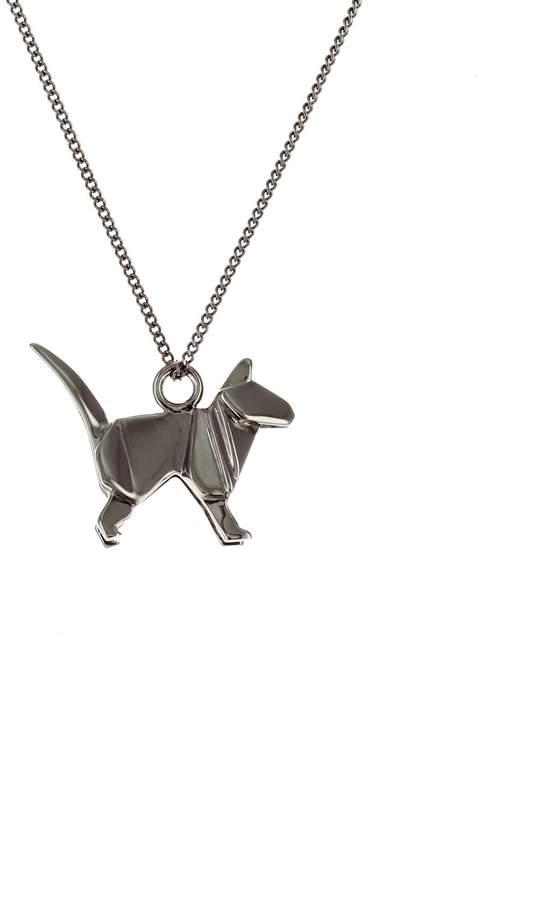 Origami Jewellery Mini Cat Gun Metal