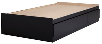 """South Shore Fusion 39"""" Twin Mate's Bed with 3 Drawers, Multiple Finishes"""