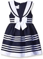 "Bonnie Jean Little Girls' Toddler ""Sailing Party"" Dress"