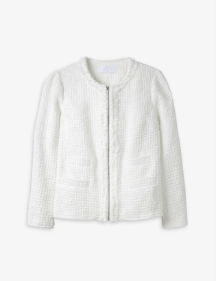 The White Company Linton tweed jacket